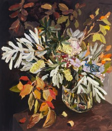 Laura Jones - Banksias and autumn leaves