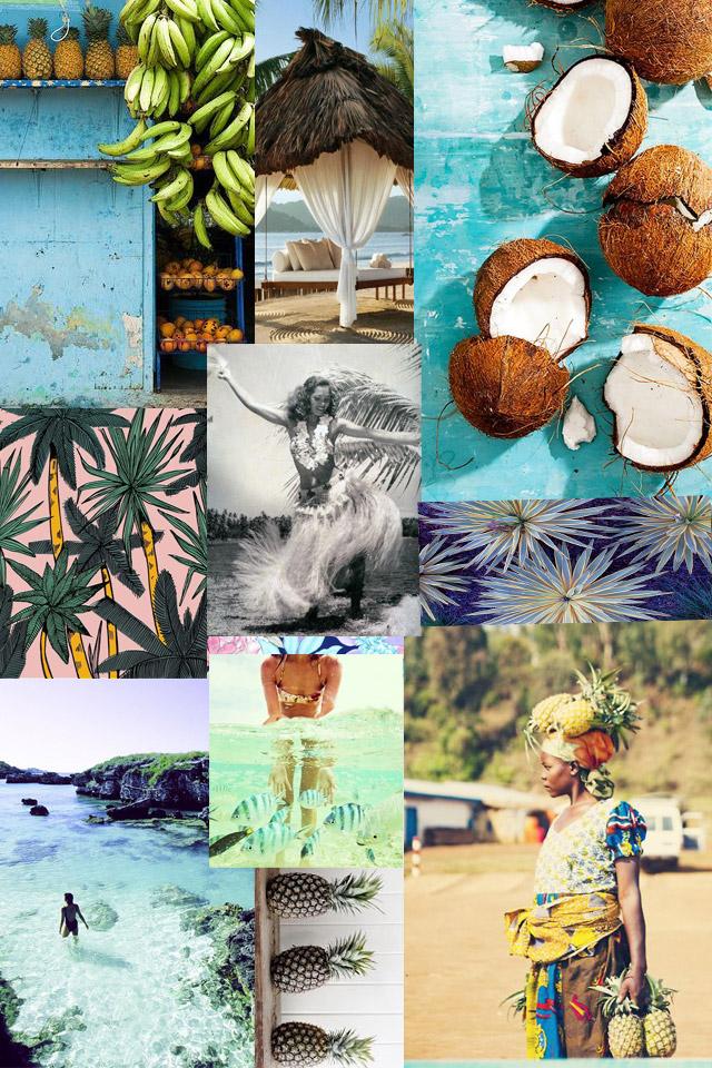 Tropical Mood Board